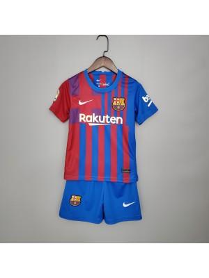 Camiseta De Barcelona 1a Eq 2021-2022 Niños