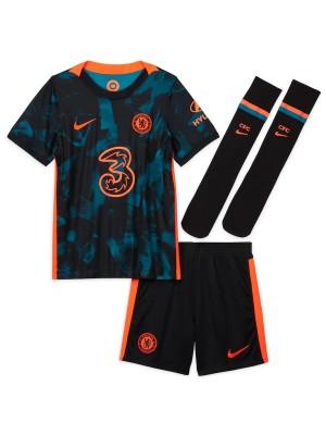 Camiseta De Chelsea 3a Equipacion 2021-2022 Niños