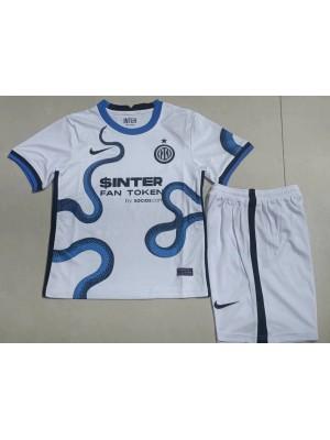 Camiseta Inter Milan 2a Equipacion 2021/2022 Niños