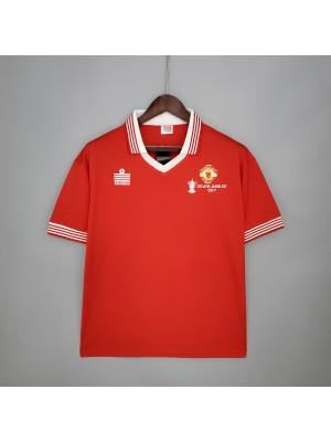 Camiseta Manchester United 1977 Retro