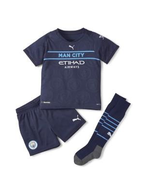 Camiseta Manchester City 3a Equipacion 2021-2022 Niños