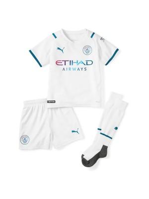 Camiseta Manchester City 2a Equipacion 2021-2022 Niños
