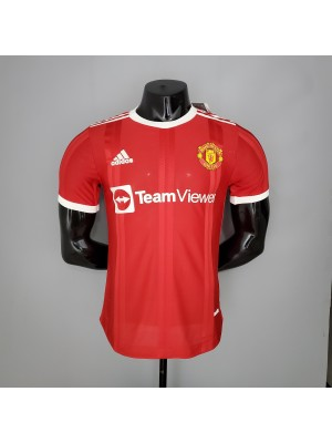 Camiseta Manchester United 1a Equipacion 2021/2022 versión del reproductor