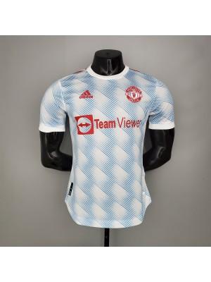 Camiseta Manchester United 2a Equipacion 2021/2022 Versión del reproductor