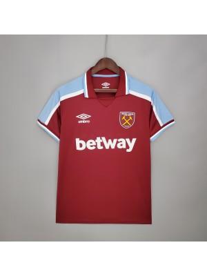 Camiseta De West Ham 1a Equipacion 2021/2022