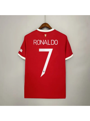 Manchester United 1a Equipacion 21/22 Ronaldo 7