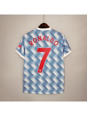 Camiseta Manchester United 2a Equipacion 21/22 Ronaldo 7