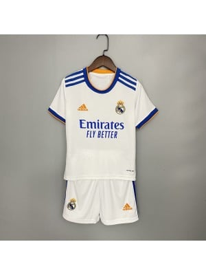 Camiseta Real Madrid 1a Equipacion 2021/2022 niños