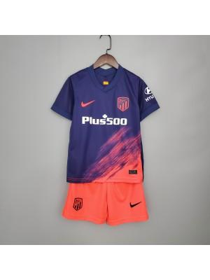 Camiseta Del Atlético de Madrid 2a Eq 2021/2022 Niños