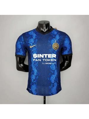 Camiseta Inter Milan Primera Equipacio 2021/2022 Jugador