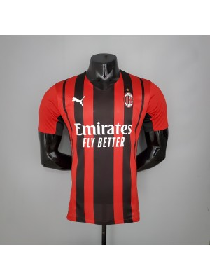 Camiseta AC Milan Primera Equipacion 2021/2022 Jugador