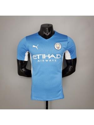Camiseta Manchester City Primera Equipacion 2021/2022 Jugador