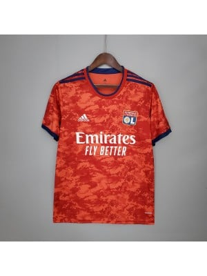 Camiseta Olympique Lyon 2a Equipacion 2021/2022