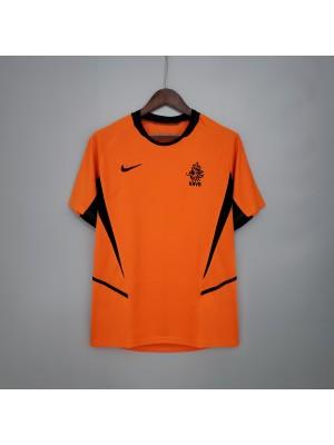 Camisas de Holanda1a equipación 2002 Retro