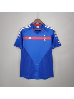 Camiseta Del Francia 2004 Retro