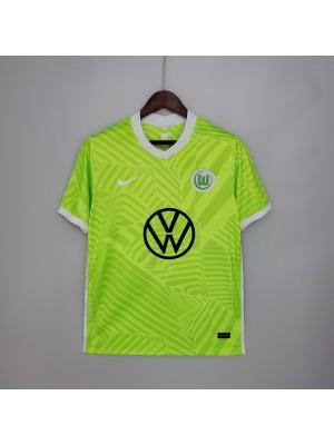 Camiseta Wolfsburg 1a Equipacion 2021/2022