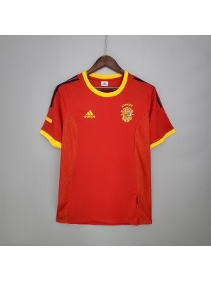 Camiseta De España 2002 Retro
