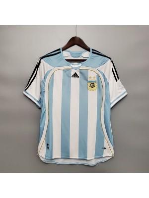 Camiseta del Argentina 2006 Retro