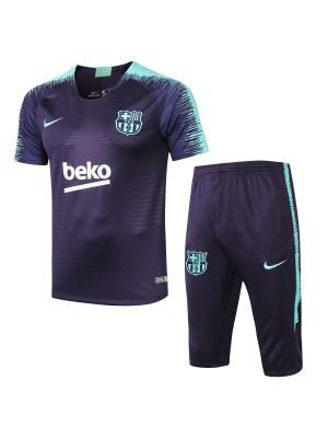 Camisas de entrenamiento barcelona azul 2018/19