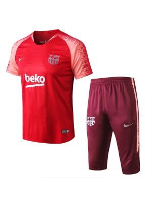 Camiseta del Barcelona Rojo 2018/19 Conjunto
