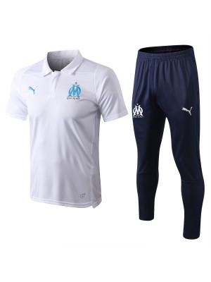 Olympique de Marseille Polo 2018/19 Blanco