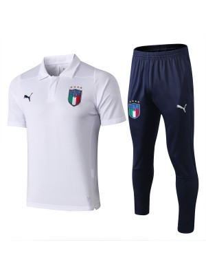 2018/19 Italia Polo Blanco (con Pantalones)