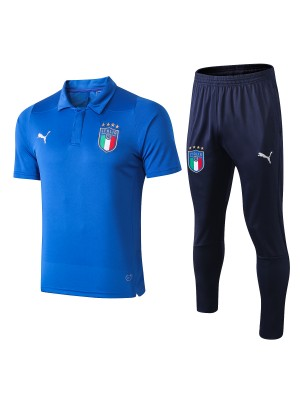 2018/19 Italia Polo Azul (con Pantalones)