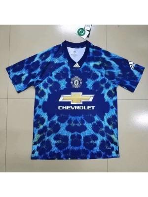 Camiseta Manchester United MUFC EA 2018/2019 Azul