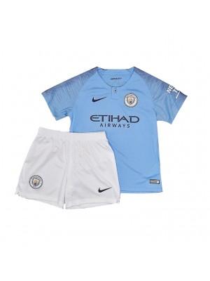 Camiseta Manchester City 1a Equipacion 18/19 Niños