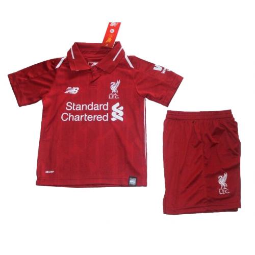 f21f487651e7d Camiseta Liverpool 1a Equipacion 2018 2019 Niños