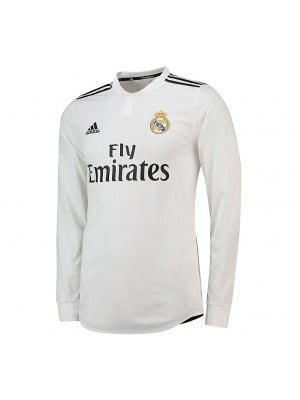 Camiseta De Real Madrid 1a Equipacion 2018/2019 ML