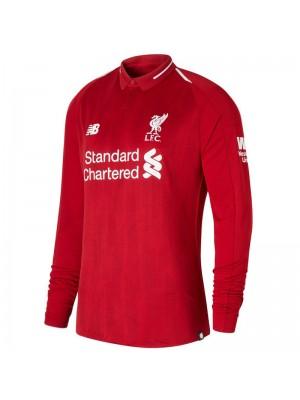 Camiseta De Liverpool 1a Equipacion 2018/2019 ML