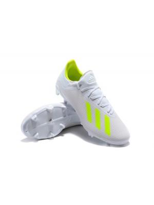 Adidas X 18.2 FG Blanco Verde