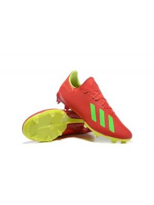 Adidas X 18.2 FG Rojo