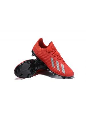 Adidas X 18.2 FG Rojo Negro