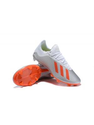 Adidas X 18.2 FG Silver Orange