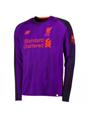 Camiseta De Liverpool 2a Equipacion 2018/2019 ML