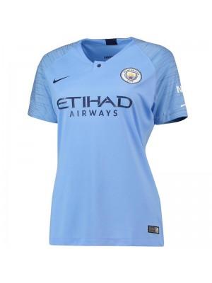 Camiseta Manchester City Primera Equipacion 2018/2019 Mujer