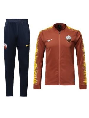 Chaqueta del AS Roma 2018-2019 Naranja