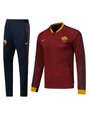 Chaqueta del AS Roma 2018-2019 Rojo