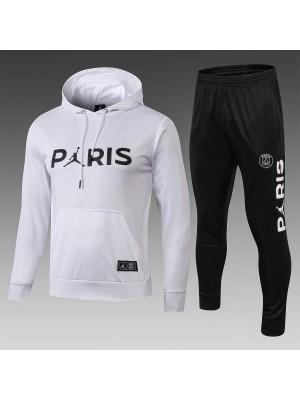 2018-2019 Paris Saint-Germain Sudadera con capucha Blanco