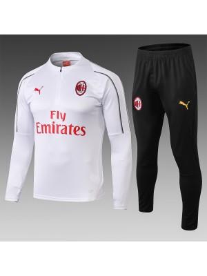 Chándales AC Milan Blanco 2018/2019