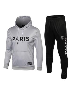 2018-2019 Paris Saint-Germain Sudadera con capucha Gris