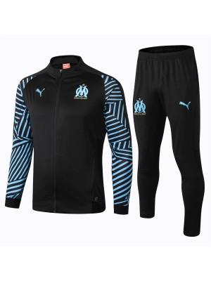 Conjuntos de chaqueta Olympique de Marseille Negro 2018/2019