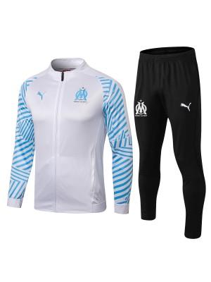 Conjuntos de chaqueta Olympique de Marseille blanco 2018/2019