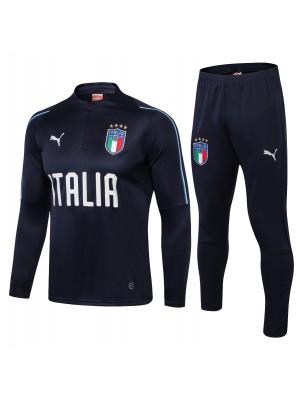 2018-2019 Italia Chándal Azul oscuro