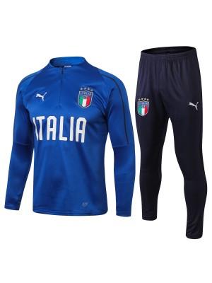 2018-2019 Italia Chándal Azul