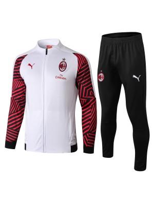 Conjuntos de chaqueta AC Milan blanco 2018/2019