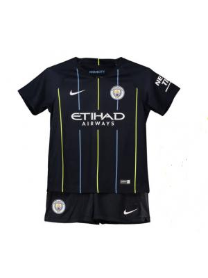 Camiseta Manchester City 2a Equipacion 18/19 Niños