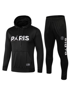 2018-2019 Paris Saint-Germain Sudadera con capucha Negro